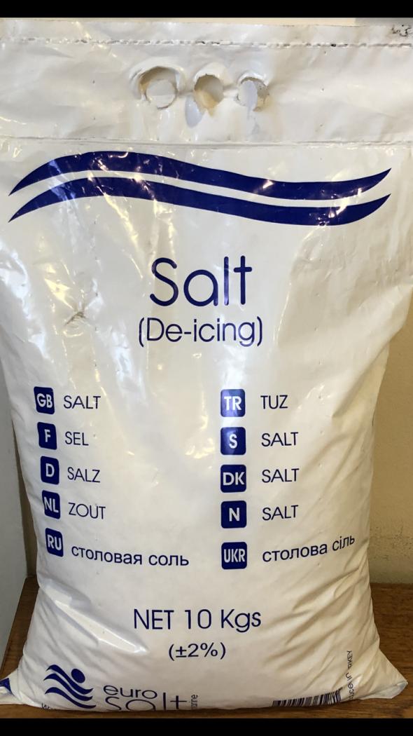Image of Rock Salt (De-icing White Salt) (10kg)