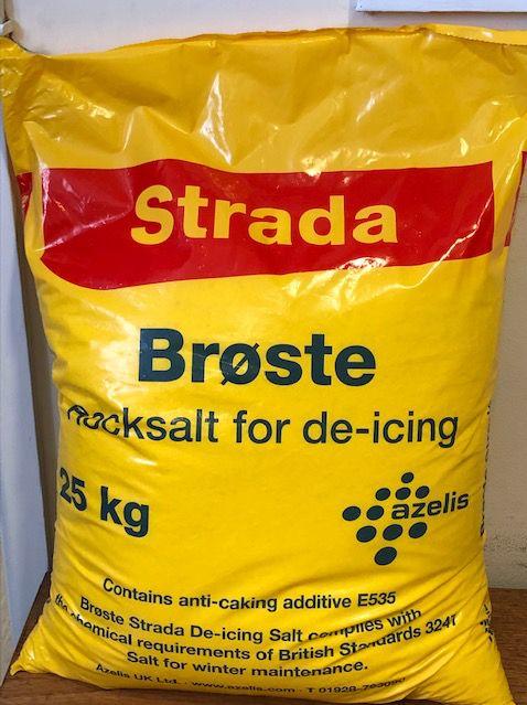 Image of Rock Salt (De-icing White Salt) (25kg)